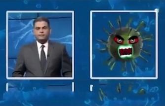 Koronavirüsle röportaj yaptı: İyi bir yanın var mı?