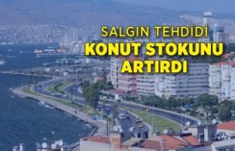 Salgın tehdidi, İzmir'de konut stokunu artırdı