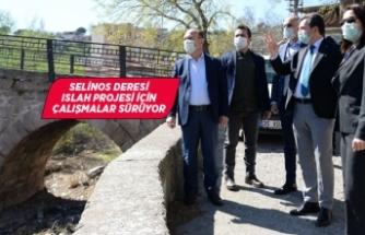 Selinos Deresi Projesi için Koronavirüs önlemli arazi çalışması
