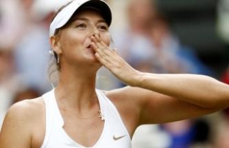 Sharapova 40 saatte 2.2 milyon mesaj!