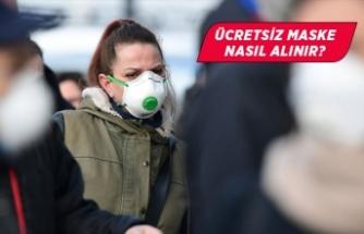 Ücretsiz maske nerede veriliyor?