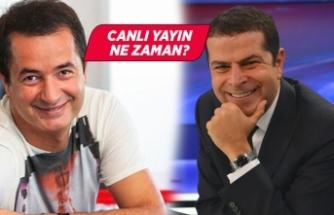 Acun Ilıcalı, Cüneyt Özdemir'e konuk oluyor!