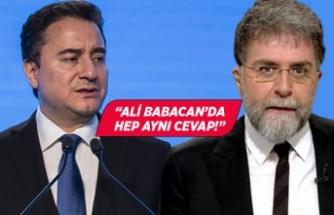 Ahmet Hakan, Ali Babacan'ı özeleştiri yapmamakla suçladı!
