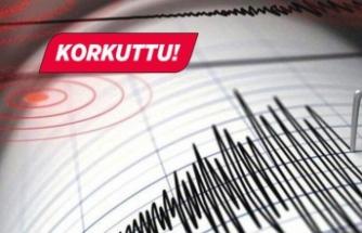 Akdeniz'de peş peşe depremler!