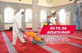 Balçova'da Camilerin temizliği yapıldı