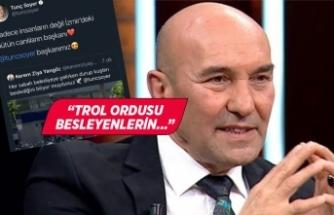 Başkan Soyer'den 'troll hesap' cevabı