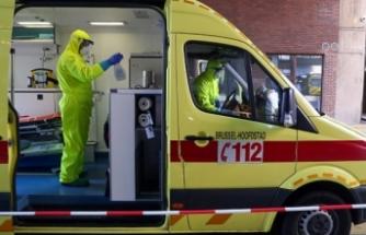 Belçika'da Kovid-19 vaka sayısı 57 bini aştı