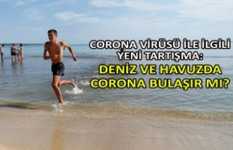 Deniz ve havuzda corona bulaşır mı?