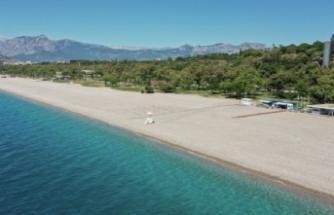 Dünyaca ünlü Konyaaltı Plajı'nda yeni dönem