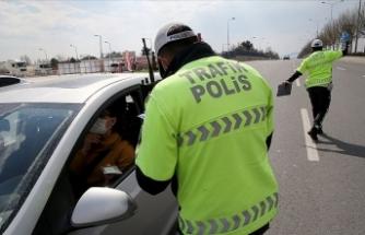"""""""Dur"""" ihtarına uymadı, 5 bin 32 lira ceza kesildi"""