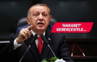 Erdoğan'dan CHP İzmir'den 4 isim hakkında suç duyurusu