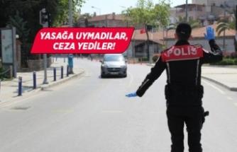 İzmir'de 398 kişiye ceza!