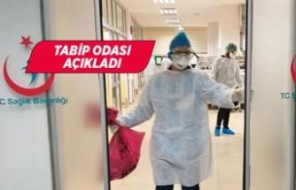 İzmir'de kaç sağlıkçıya virüs bulaştı?