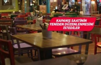 Lokantacılardan kapanış saatine ''revize'' talebi