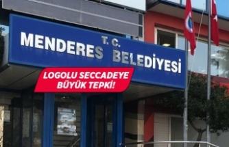 Menderes Belediyesinin dağıttığı seccadedeki logoya tepki!