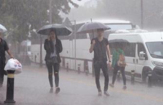 Meteoroloji'den sağanak yağış uyarısı: Sıcaklıklar azalıyor…