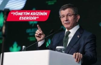 """Ahmet Davutoğlu'ndan """"sokağa çıkma yasağı"""" eleştirisi!"""