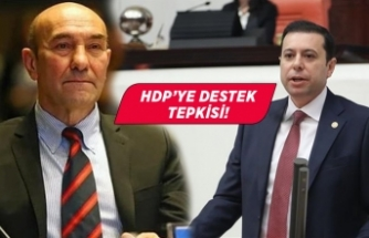 """AK Partili Kaya'dan Tunç Soyer'e """"HDP'ye destek"""" tepkisi"""