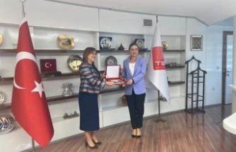 Başkan Sengel Ankara'da