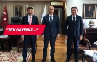 Bergama projeleri Ankara'da