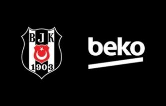 Beşiktaş'ın yeni forma göğüs sponsoru Beko oldu