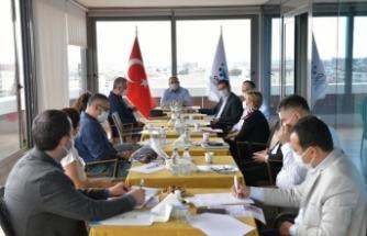 Çiğli'de hastane yöneticileri ile 'normalleşme' toplantısı