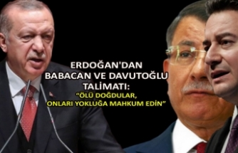 """Erdoğan'dan Babacan ve Davutoğlu talimatı: """"Ölü doğdular, onları yokluğa mahkum edin"""""""