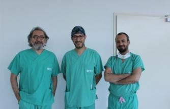 Kapalı cerrahiyle, hastaya çifte moral