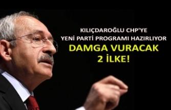 Kılıçdaroğlu CHP'ye yeni parti programı hazırlıyor