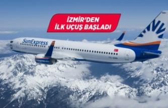 SunExpress'ten, seyahat kısıtlamasının ardından ilk uçuş