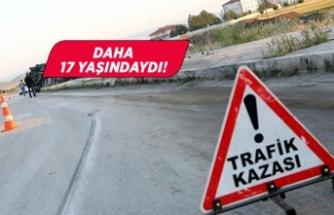 Aydın'da acı haber! Motosiklet kazasında öldü