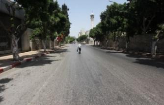 Batı Şeria'da 5 günlük genel karantina başladı