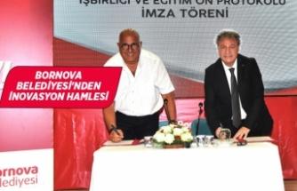 Bornova Belediyesi ve Habitat Derneği arasında ön protokol imzalandı