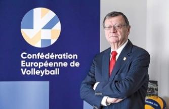 CEV Başkanı Boricic TVF'ye teşekkür etti