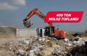 Gaziemir Belediyesi iki günde 40 kamyon moloz topladı