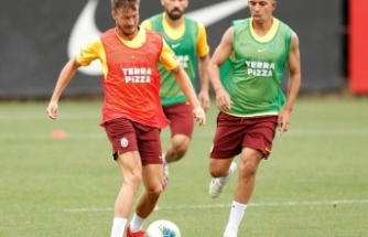 Göztepe, Galatasaray maçının hazırlıklarını sürdürdü