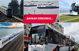 İzmir'de toplu ulaşım Bayram'da 1 kuruş!