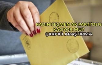 Kadın seçmen AK Parti'den kaçıyor mu? Çarpıcı araştırma