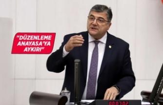 """Milletvekili Sındır: """"Saray talimatıyla barolar vesayet altına alınmak isteniyor"""""""