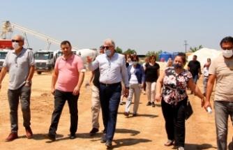 Ödemiş'te çevre dostu tesisin inşaatına teknik gezi