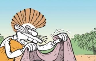 Sosyal medyaya damga vuran karikatür