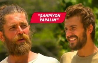 Survivor'dan elenen Mert Öcal'dan Cemal Can kampanyası!