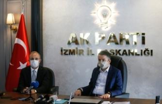 Tarım ve Orman Bakanı Pakdemirli İzmir'de