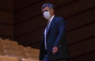 TBB Başkanı Metin Feyzioğlu Meclis'te