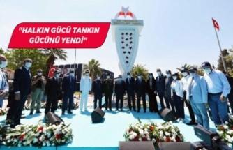 Yıldırım'dan İzmir'e 15 Temmuz çıkarması