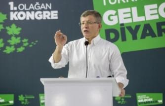"""Ahmet Davutoğlu: """"Bizde kimseyi suçlamak yok"""""""
