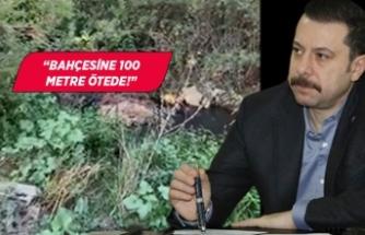 AK Partili Kaya'dan Soyer'e kanalizasyon çıkışı