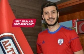 """Sinan Osmanoğlu: """"Üst sıraları zorlayacağız"""""""