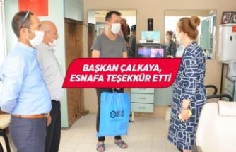Balçova Belediyesi'nden hijyenik destek