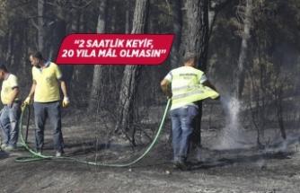 Başkan Kılıç'tan yangın uyarısı